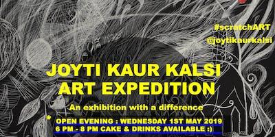 Joyti Kaur Kalsi: Art Expedition