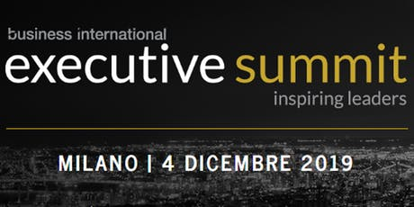 EXECUTIVE SUMMIT biglietti