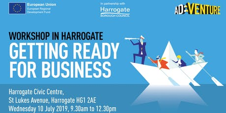 Adventure Business Workshop in Harrogate - Getting Ready for Business tickets