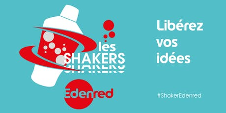 Shaker Edenred #2 #Lille - Réussir sa transformation digitale avec le change management billets