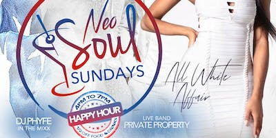 ALL WHITE - NEO SOUL SUNDAYS - MEMORIAL DAY EDITION