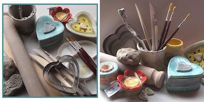 Make A Trinket Pot & Jewellery Dish (2 Sessions))