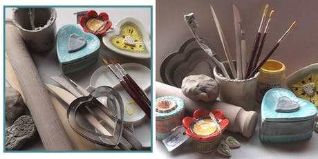 Make A Trinket Pot & Jewellery Dish (2 Sessions)) tickets