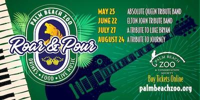Palm Beach Zoo - Roar & Pour Summer Concert Series