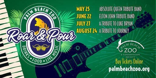 Palm Beach Zoo - Roar & Pour Summer Concert Series