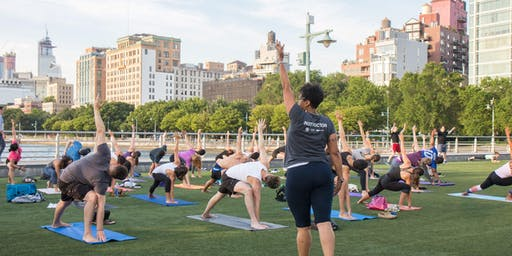 Healthy on the Hudson x Yoga