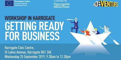 Adventure Business Workshop in Harrogate - Getting Ready for Business