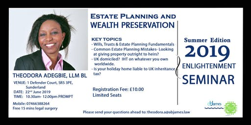 Estate Planning & Wealth Preservation Seminar