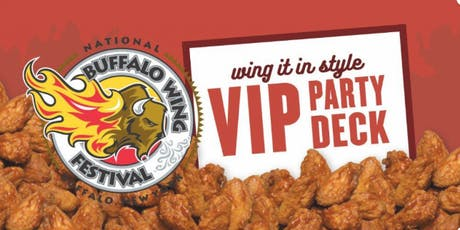 2019 VIP Party Deck at the National Buffalo Wing Festival tickets