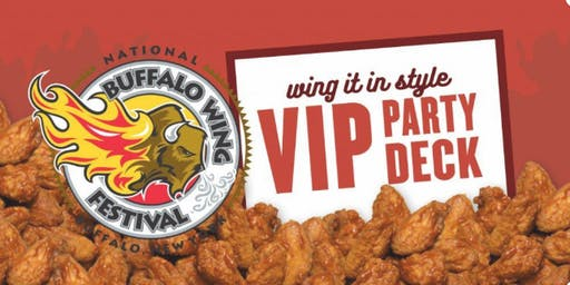 2019 VIP Party Deck at the National Buffalo Wing Festival