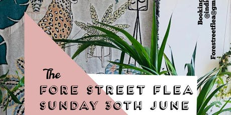 Fore Street Flea traders & makers booking tickets