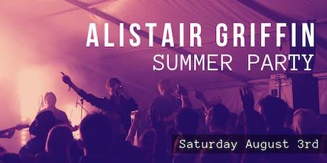 Alistair Griffin Summer Party tickets