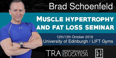 Brad Schoenfeld: Muscle Hypertrophy and Fat Loss tickets