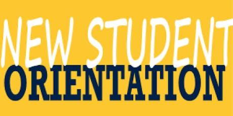2019 BTECH New Student Orientation  tickets