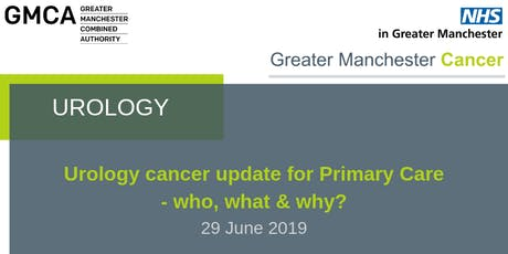 Urology cancer update for Primary Care - who, what & why? tickets