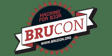 BruCON 0x0B billets