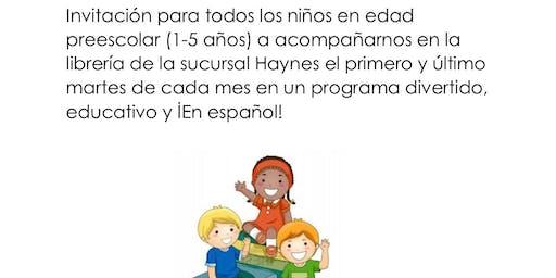 Programa Preescolar en Espanol en Haynes
