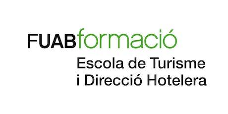 Jornada de Portes Obertes - Escola de Turisme i Direcció Hotelera UAB 12/07 entradas