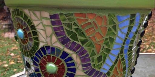 Mosaic Workshop: Flower Pots
