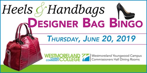 Heels and Handbags Designer Bag Bingo