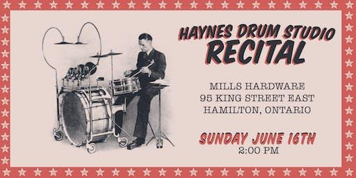 Haynes Drum Studio - Recital