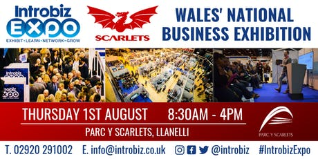 Introbiz Business Exhibition at The Scarlets tickets