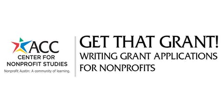 Get that Grant! Writing Grant Applications for Nonprofits tickets