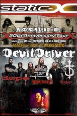 Catch One Presents: Static X / DevilDriver / Dope  tickets