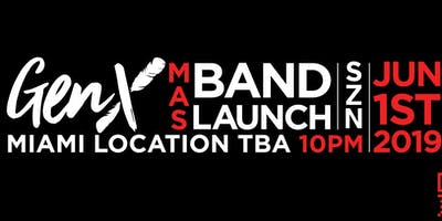 GEN X CARNIVAL MAS BAND LAUNCH 2019 -