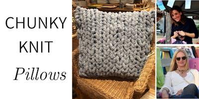 Chunky Knit PILLOWS @ Nest on Main - Thu., 5/23