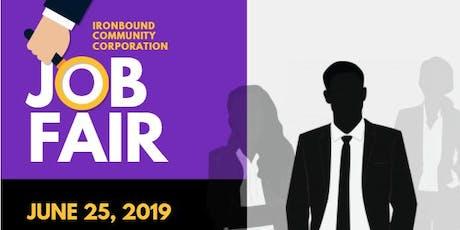 Ironbound Community Corporation Job Fair tickets