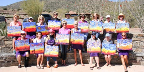 Acrylic Painting Class taught by Vino and Canvas tickets