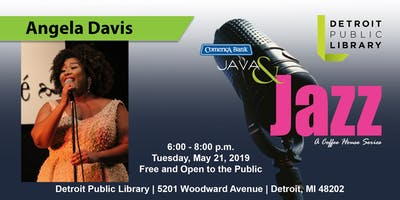 Comerica Bank Java & Jazz Presents Angela Davis