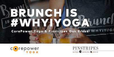Yoga & Brunch at Pinstripes Oak Brook