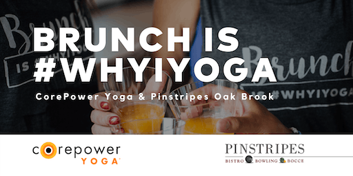 Yoga & Brunch at Pinstripes Oak Brook