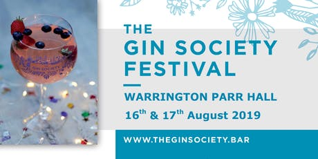 The Gin Society - Warrington Festival 2019 tickets