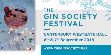 The Gin Society - Canterbury Festival 2019 tickets