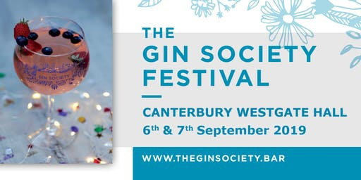 The Gin Society - Canterbury Festival 2019