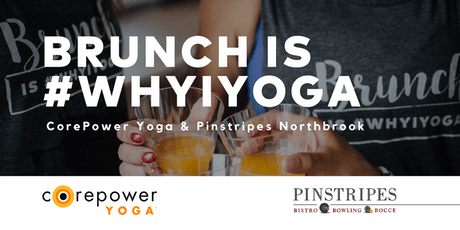Yoga & Brunch at Pinstripes Northbrook tickets
