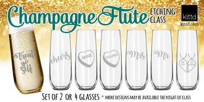 Bubbly Fun - Champagne Glass Etching Class