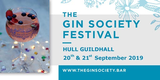 The Gin Society - Hull Festival 2019