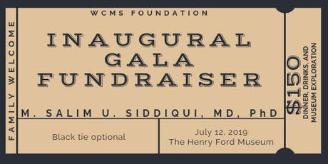 WCMS Foundation Inaugural Gala tickets