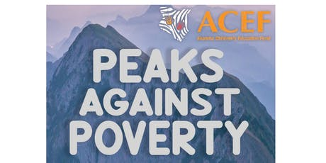 ACEF - Peaks Against Poverty tickets