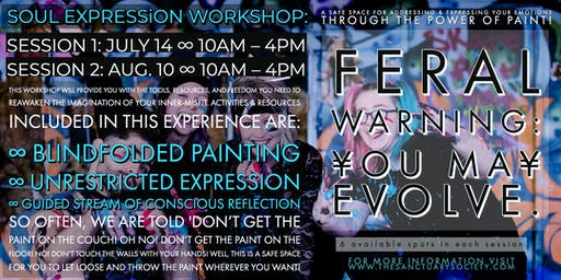 Soul Expression ∞ Power Of Paint [session 1 – July 14]