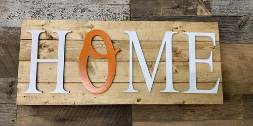 Create your own HOME Sign by Plank Design Company