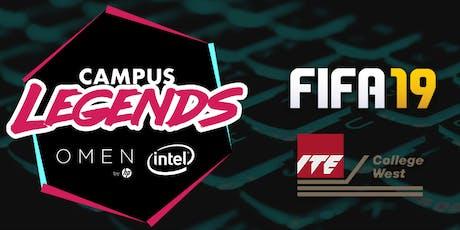 Campus Legends 2019: FIFA19 - ITE College West Qualifiers tickets