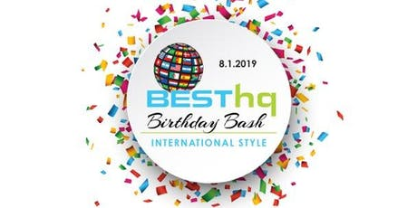 BESThq Celebrates 8 Years - International Style tickets