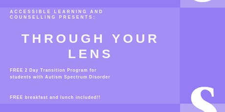 Through Your Lens tickets