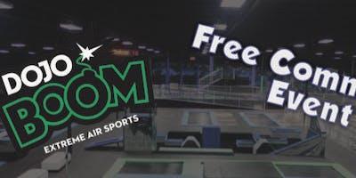 Free Community Event @ Dojo Boom!