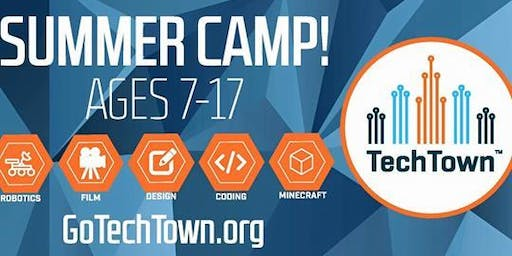 TechTown Summer Camp!